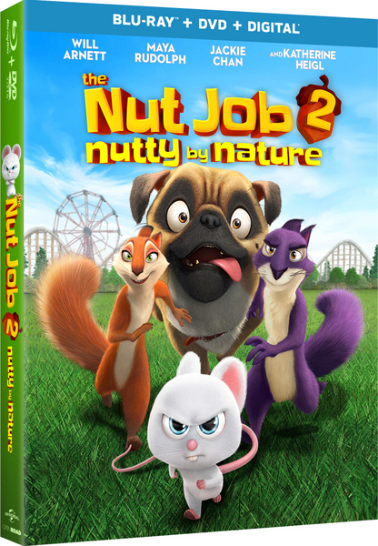 THE NUT JOB 2: NUTTY BY NATURE Blu-ray