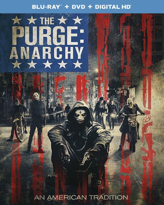 The Purge Anarchy (Blu-ray + DVD + Digital HD)