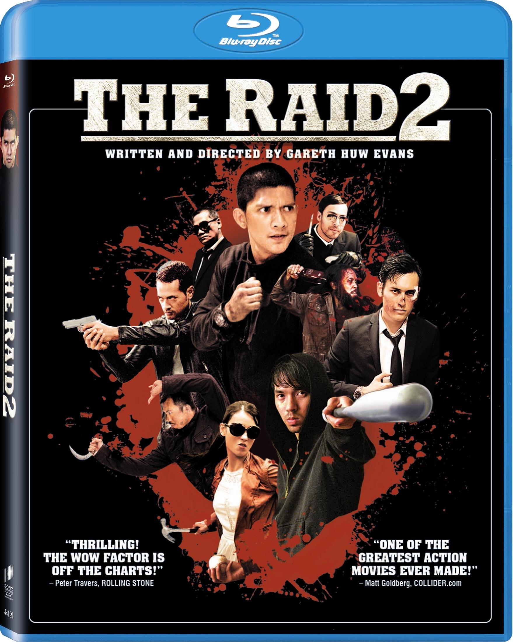 The Raid 2 Blu-ray Review