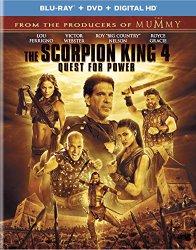 The Scorpion King 4  (Blu-ray + DVD + Digital HD)