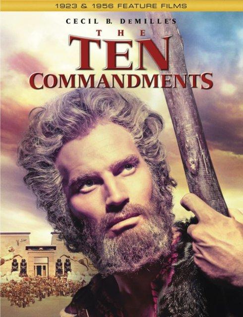 the-ten-commandments (Blu-ray + DVD + Digital HD)