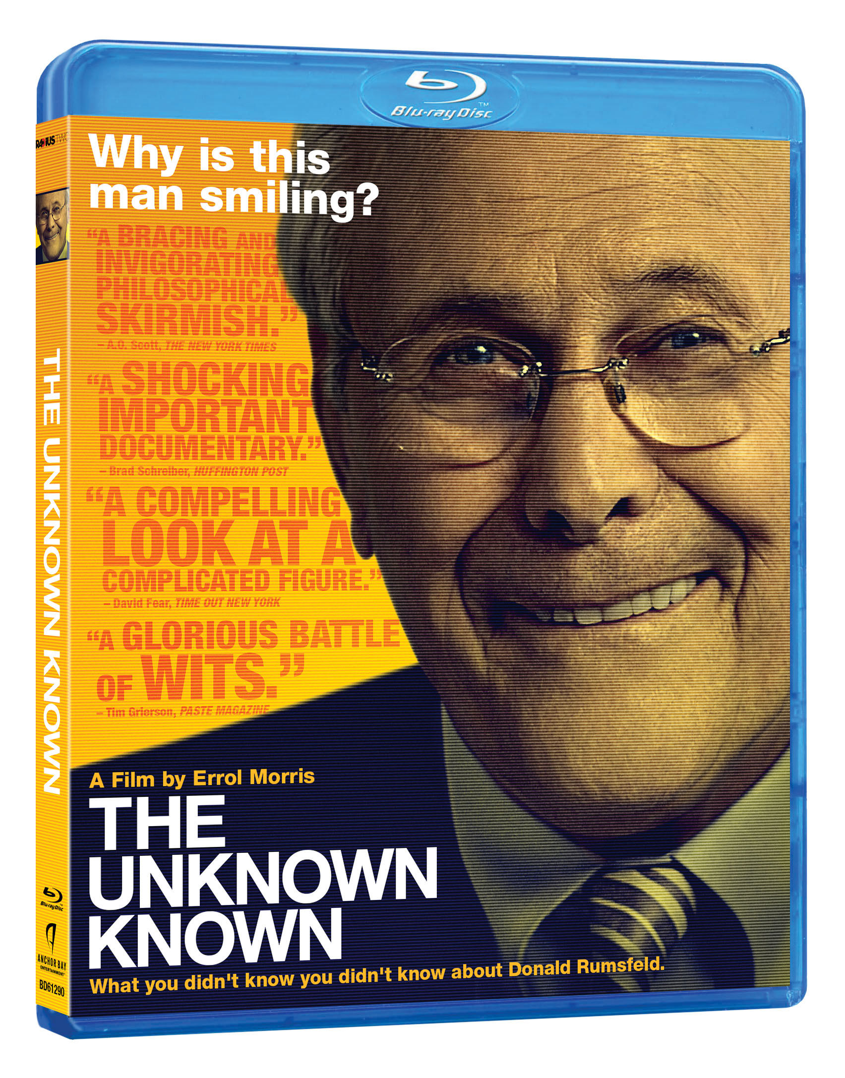 The Unknown Known Blu-ray Review