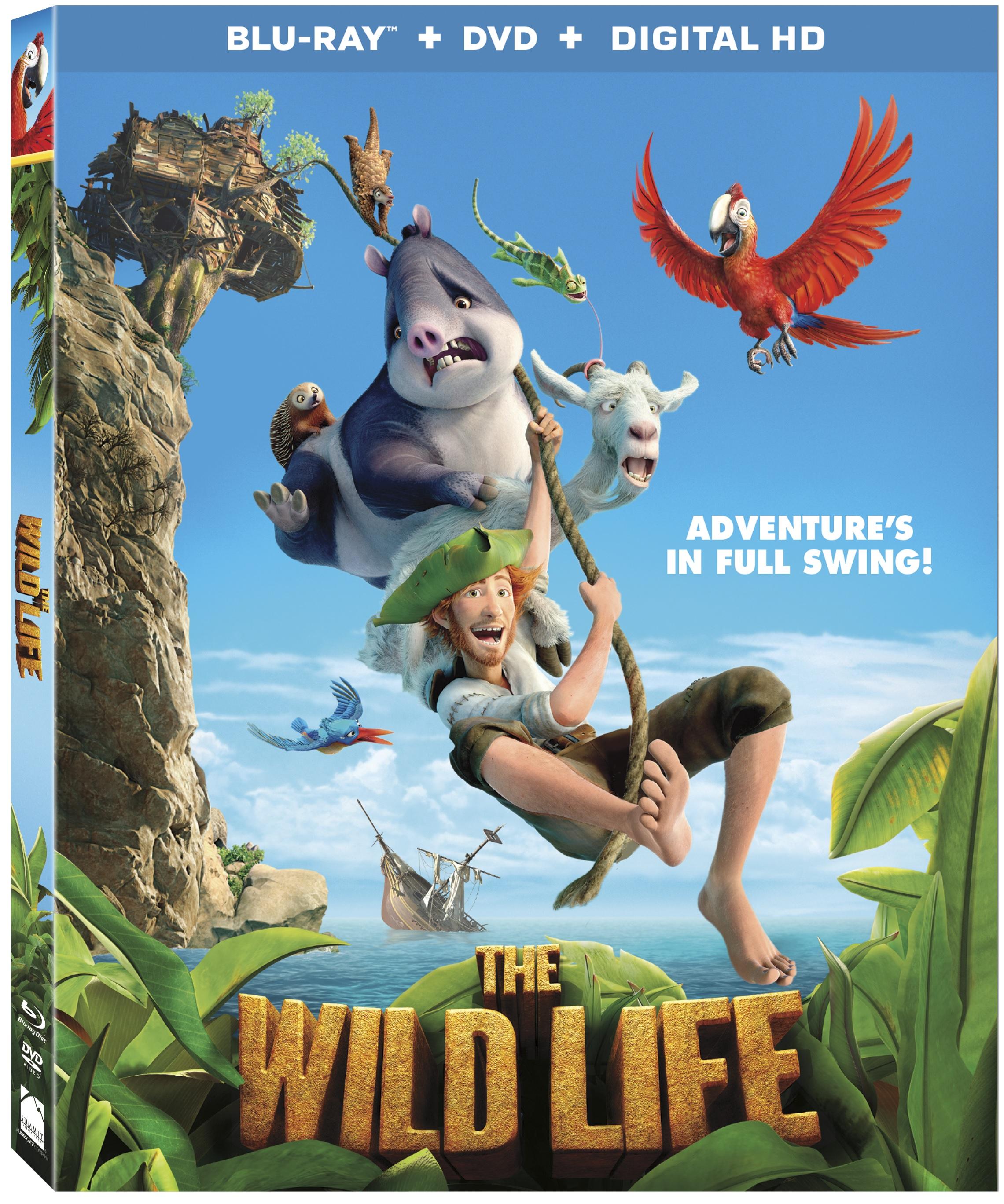 THE WILD LIFE Blu-ray