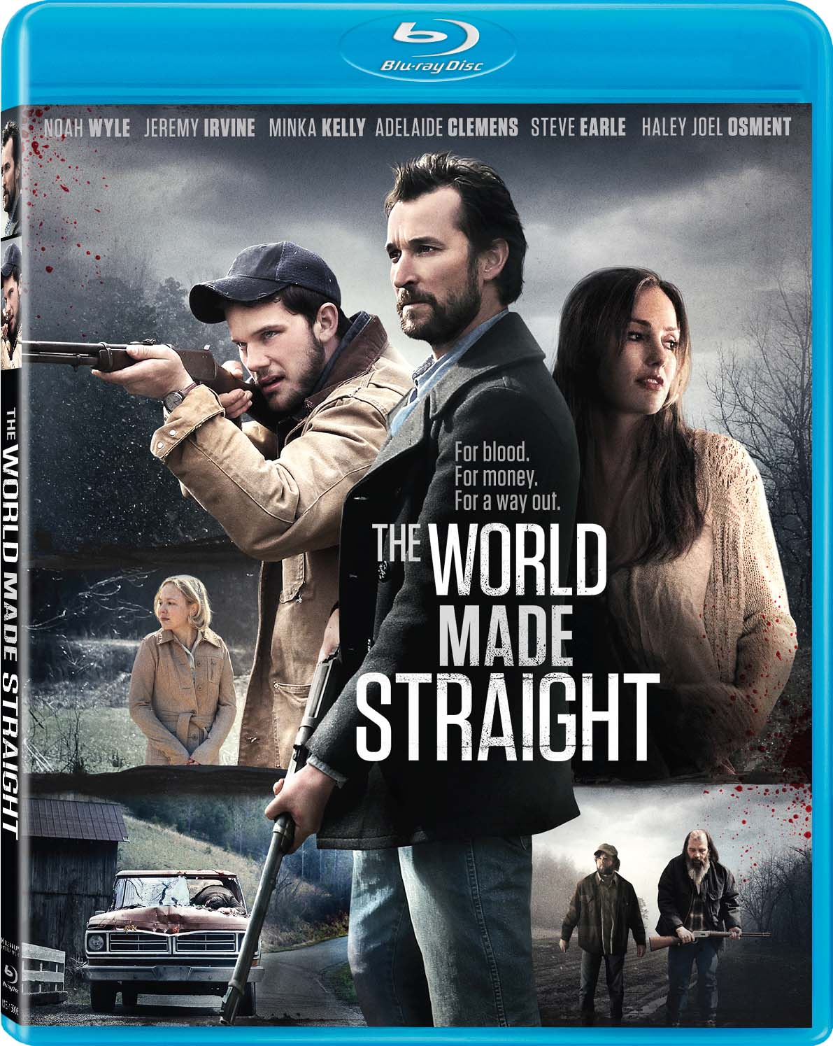 THE WORLD MADE STRAIGHT Blu-ray