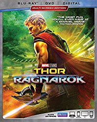 Thor Ragnarok(Blu-ray + DVD + Digital HD)