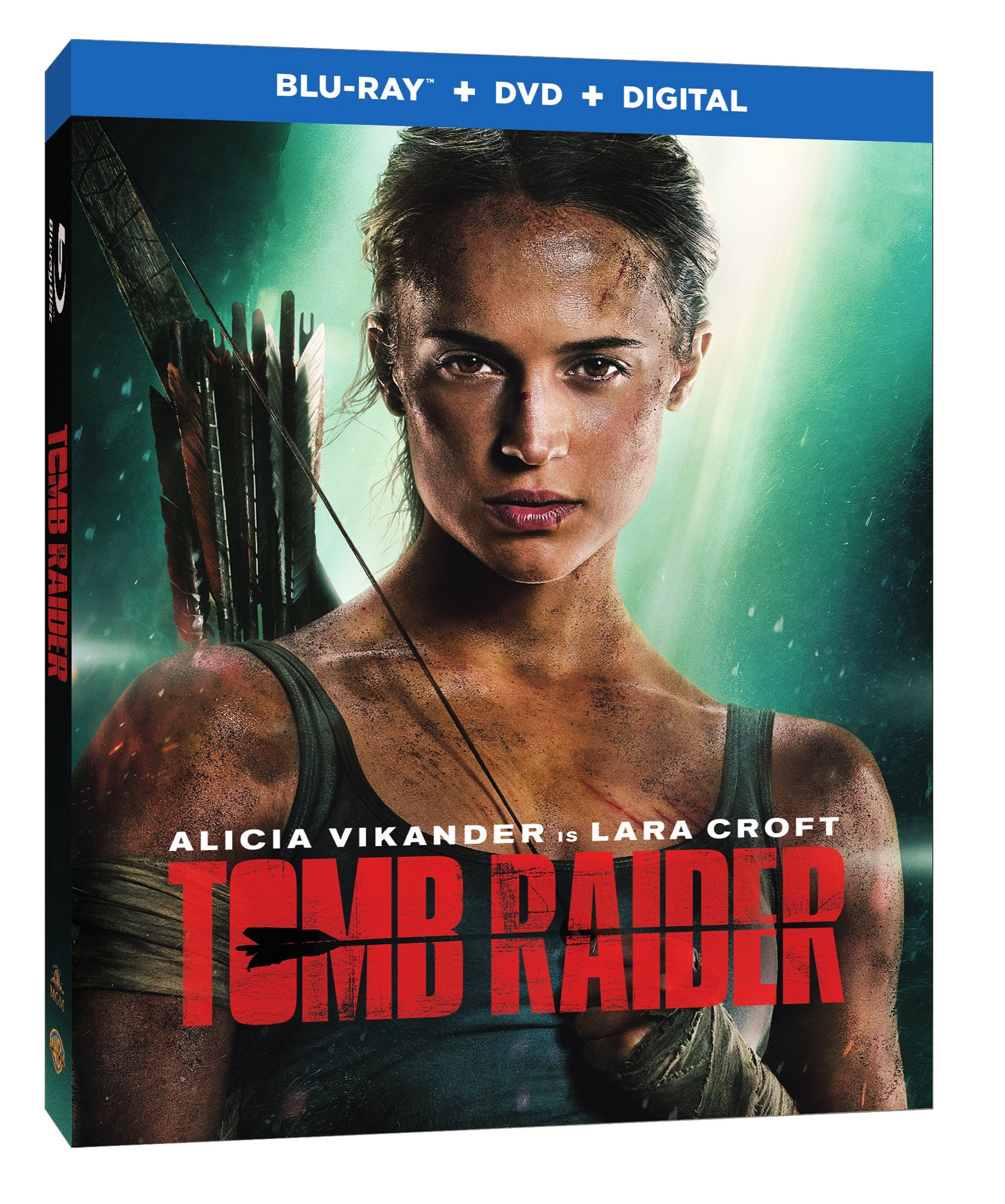 TOMB RAIDER Blu-ray