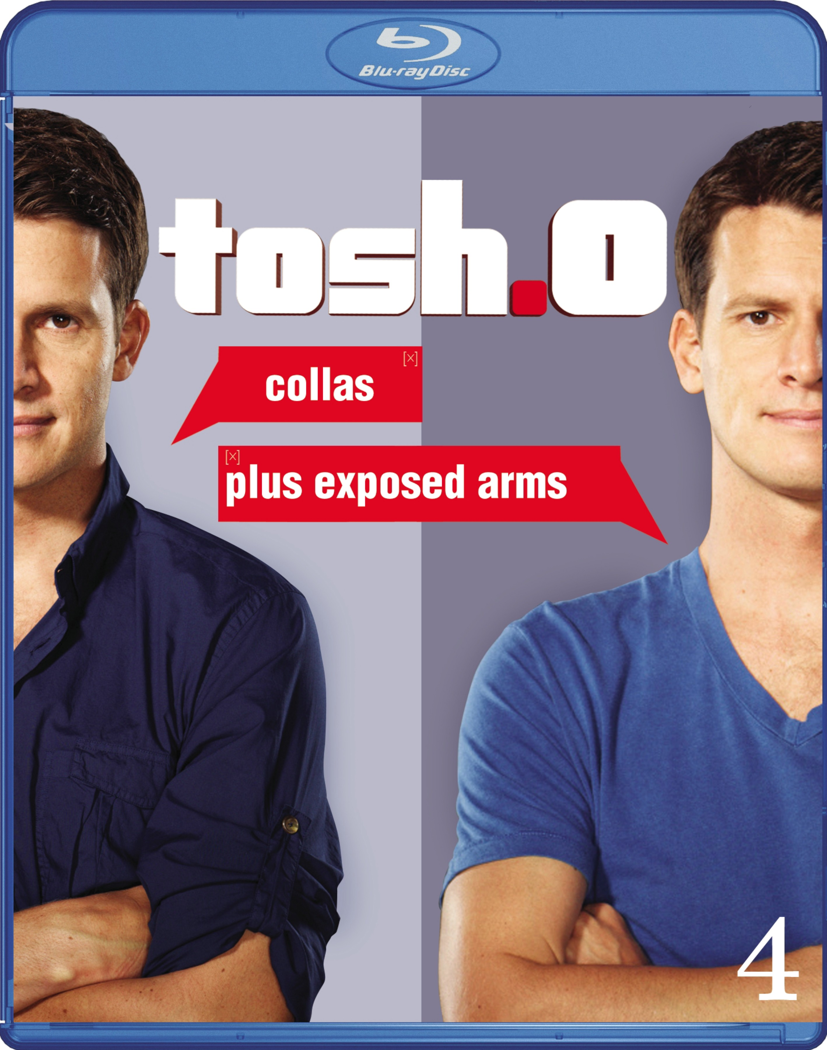 Tosh.0: Collas Plus Exposed Arms Blu-ray Review