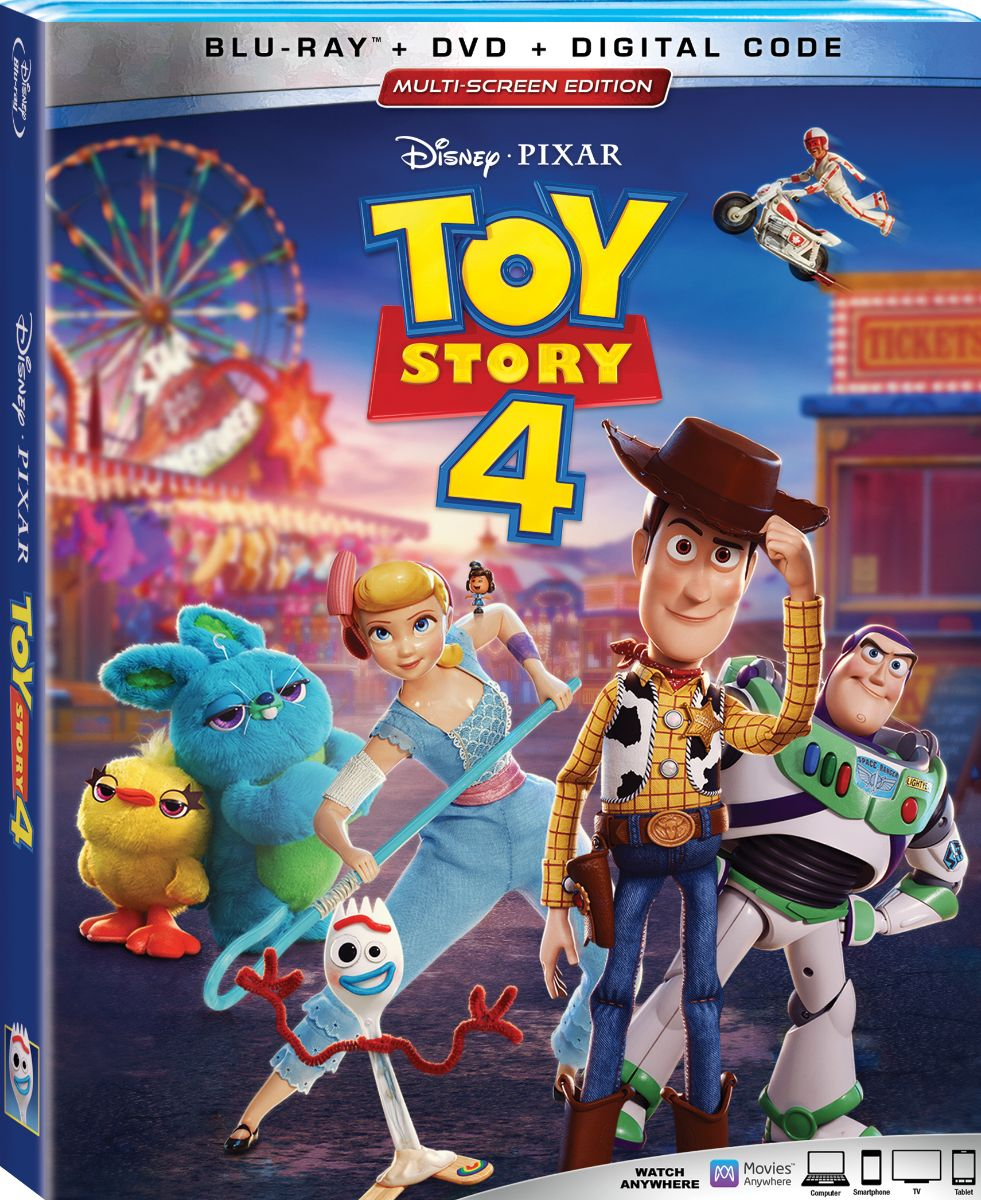 toy-story-4 Blu-ray