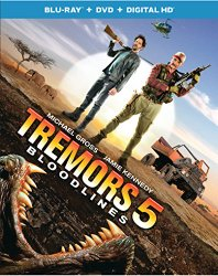 Tremors 5 Blu-ray Cover