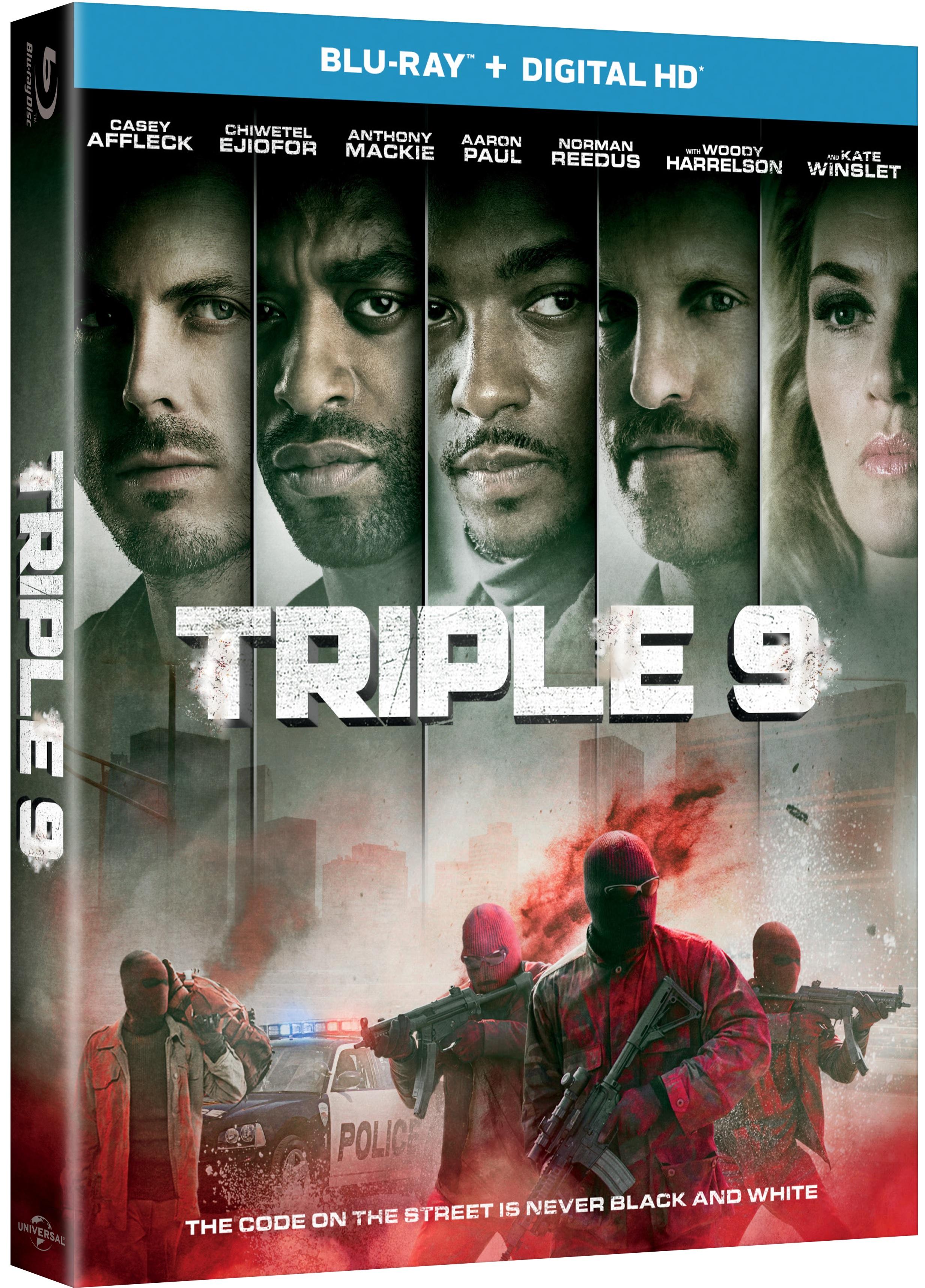 TRIPLE 9 Blu-ray