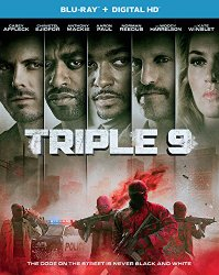 Triple 9 Blu-ray Cover
