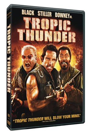 Tropic Thunder DVD COVER
