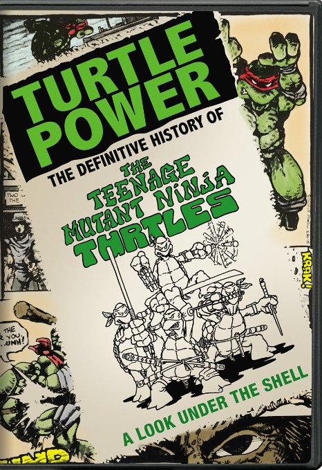 Turtle Power (Blu-ray + DVD + Digital HD)