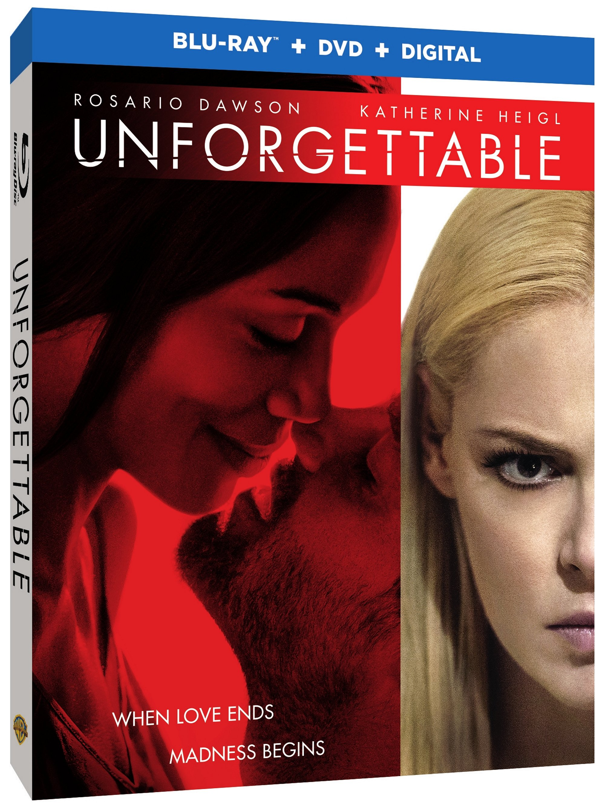 UNFORGETTABLE Blu-ray