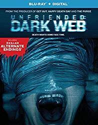 Unfriended Dark Web(Blu-ray + DVD + Digital HD)