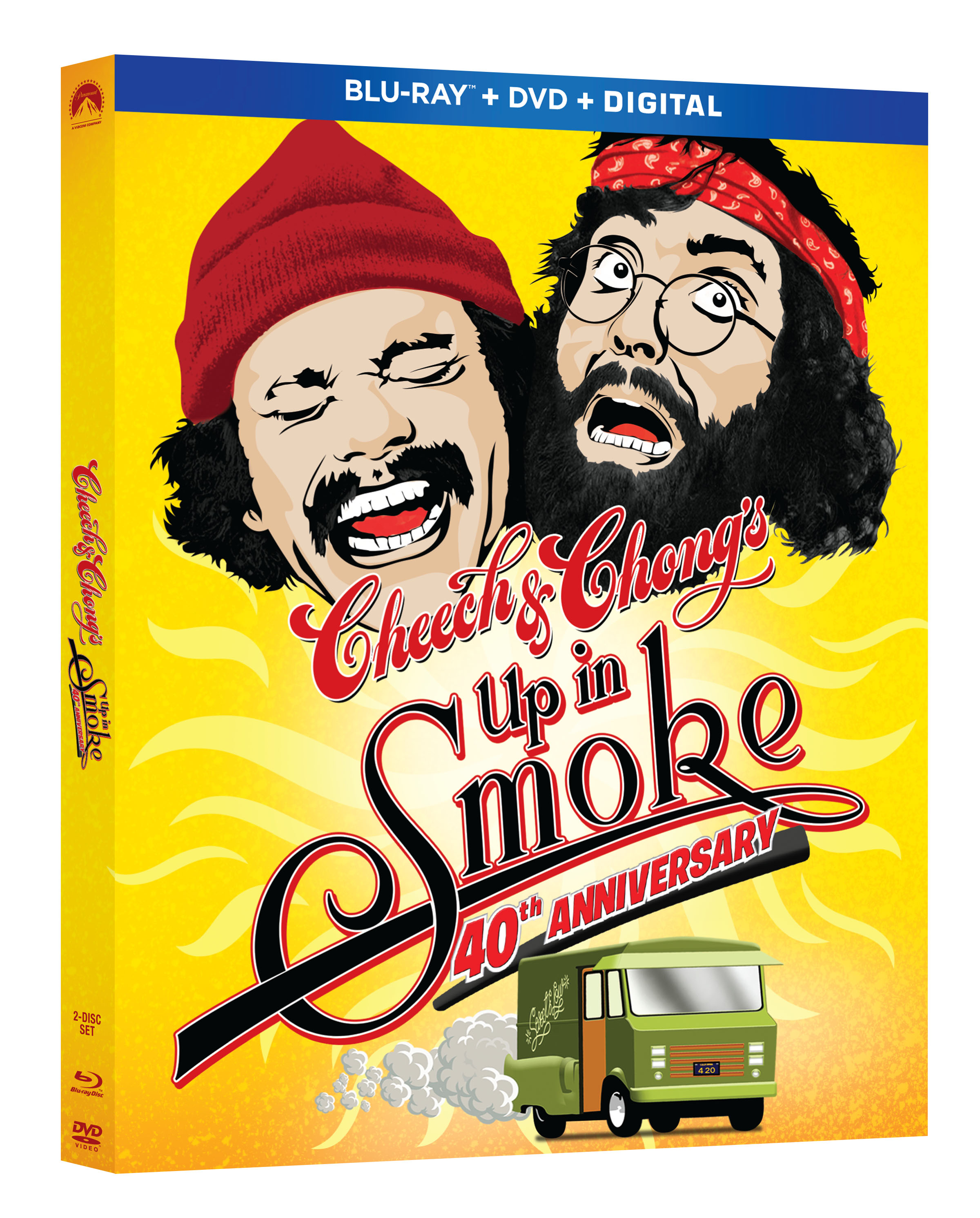 Up in Smoke Blu-ray Review