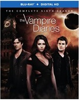 Vampire Diaries Season 6 Blu-ray Cover