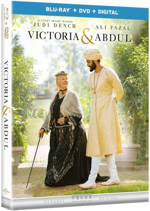VICTORIA & ABDUL Blu-ray