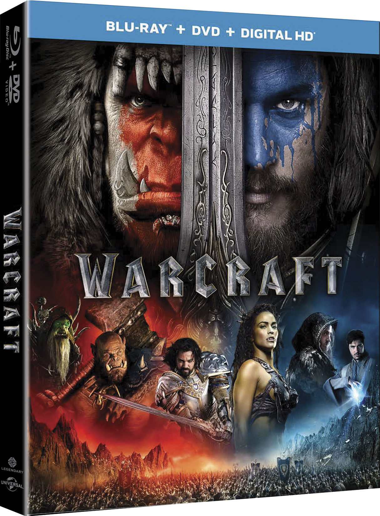 WARCRAFT Blu-ray