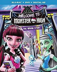 WELCOME TO MONSTER HIGH THE ORIGIN STORY Blu-ray Cover