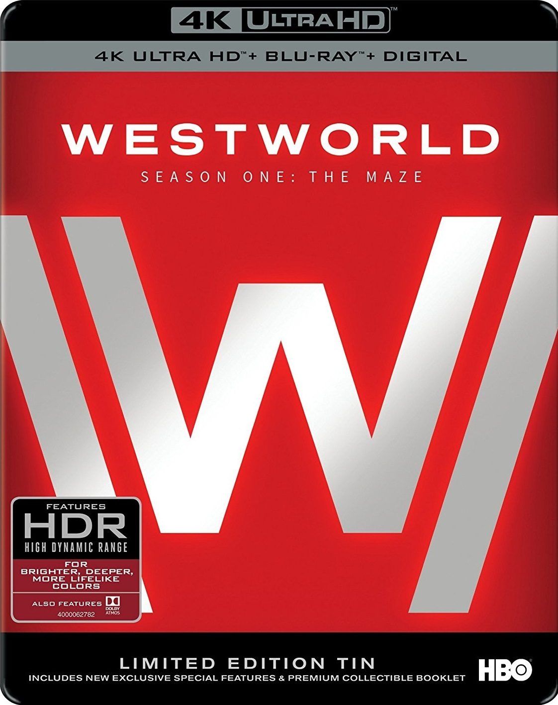 Westworld Season One  Blu-ray Review