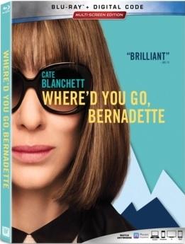 WHERE'D YOU GO, BERNADETTE Release Poster