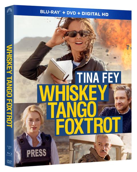 WHISKEY TANGO FOXTROT Blu-ray