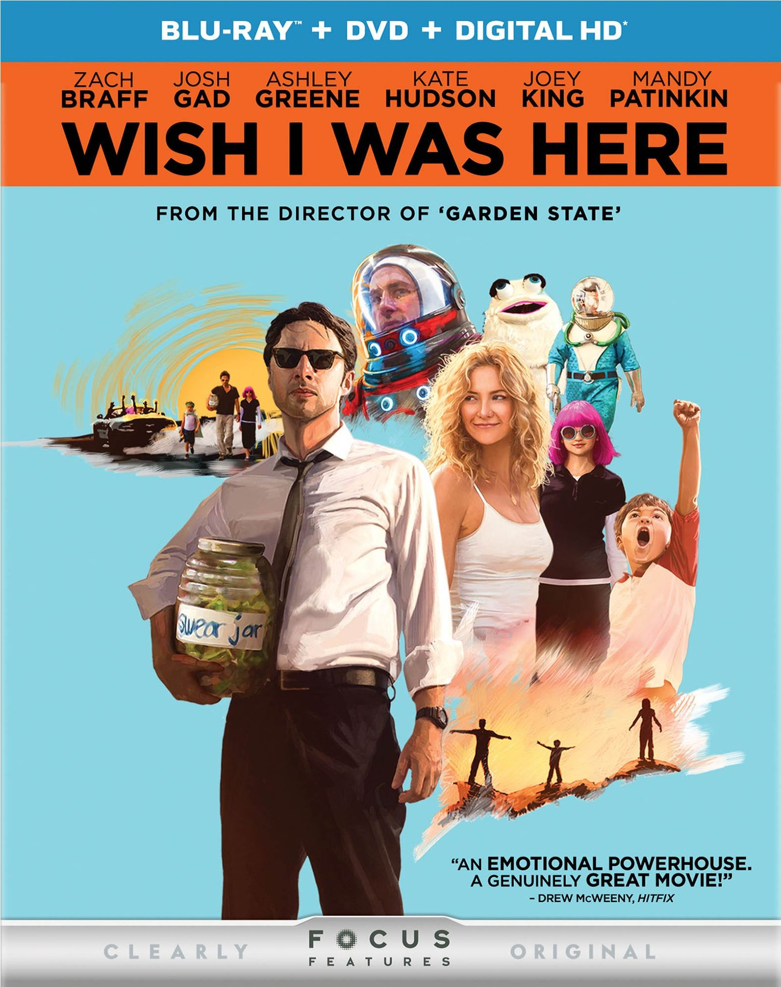Wish I Was Here Blu-ray Review