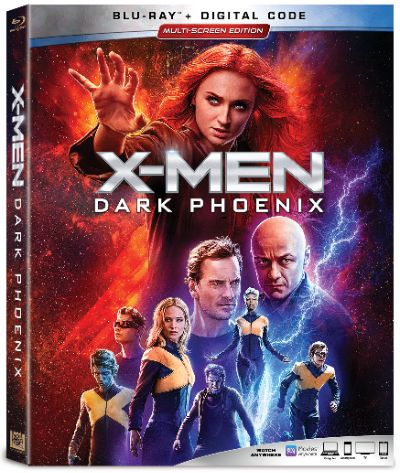 X-MEN:DARK PHOENIX Blu-ray