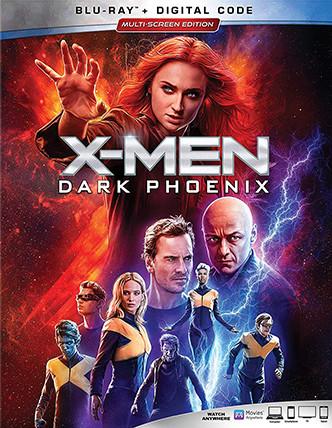 X-MEN Dark Phoenix(Blu-ray + DVD + Digital HD)