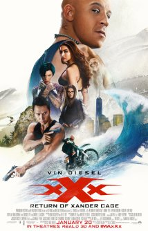 XXX Return of Xander Cage (Blu-ray + DVD + Digital HD)