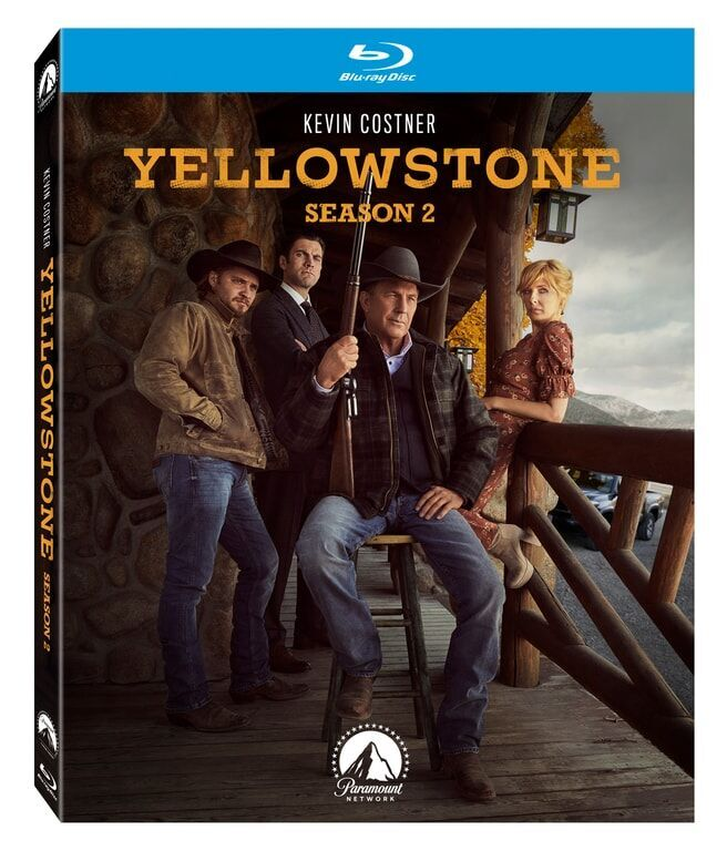 YELLOWSTONE SEASON TWO Blu-ray