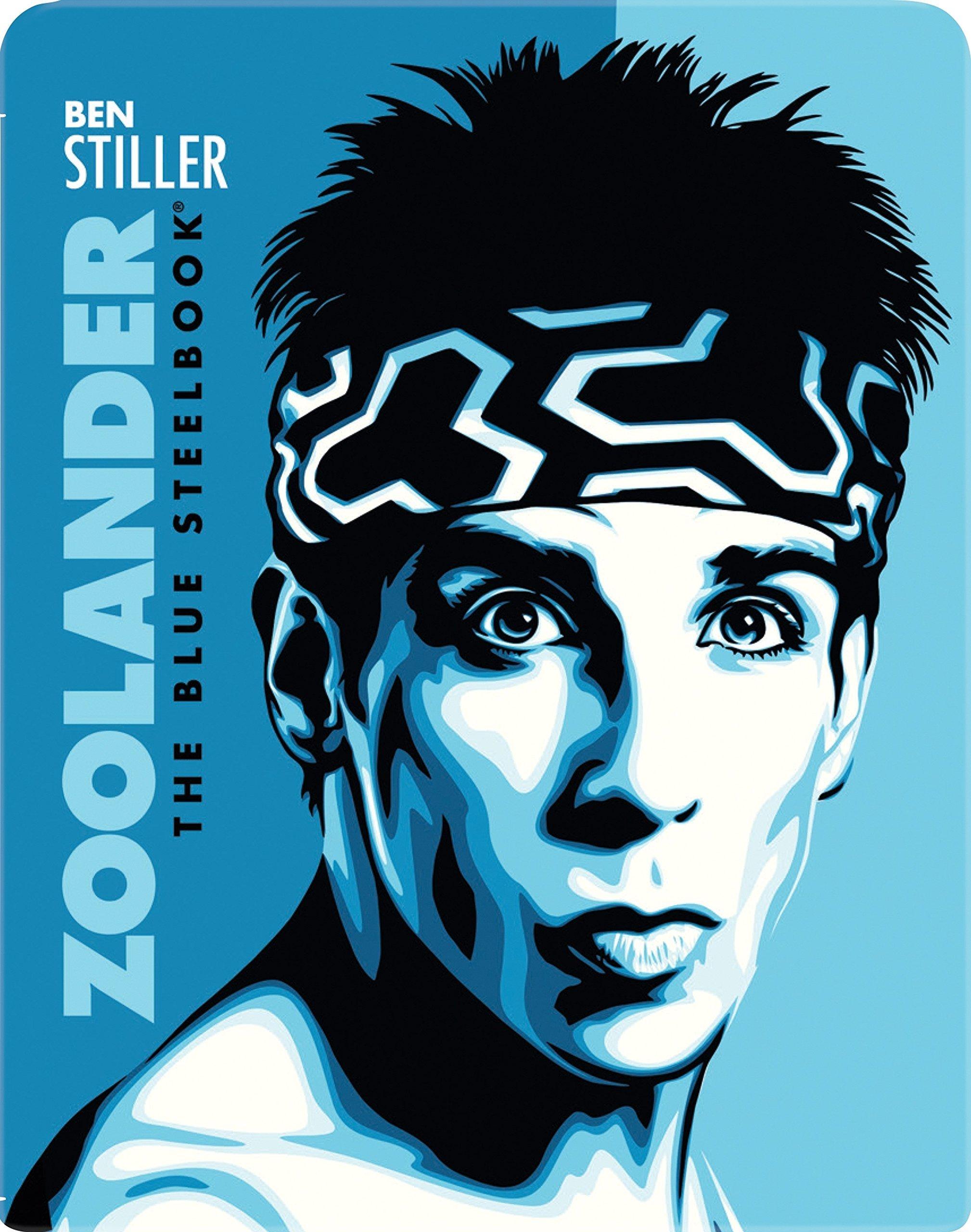 ZOOLANDER THE BLUE STEELBOOK Blu-ray