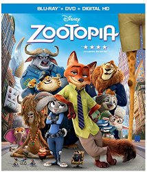 Zootopis Blu-ray Cover